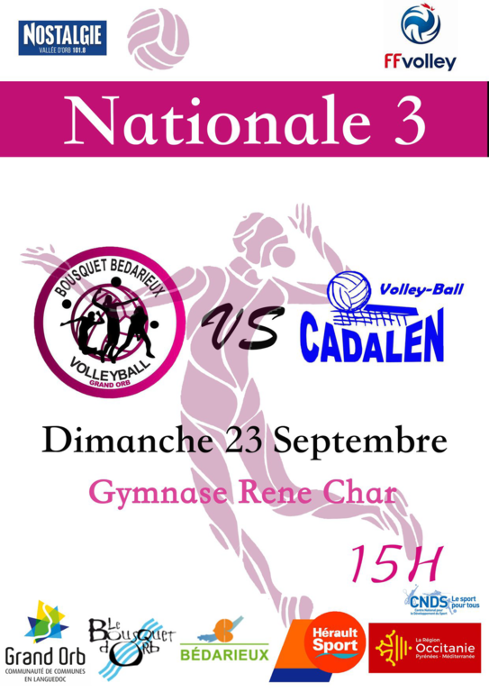 Nationale 3 BBVB / CADALEN